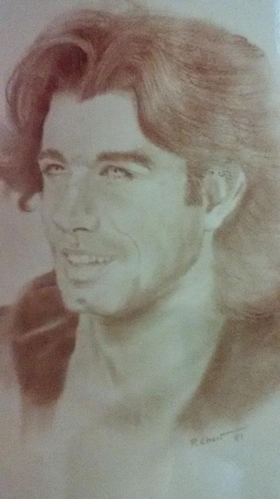 John Travolta por Bobchew